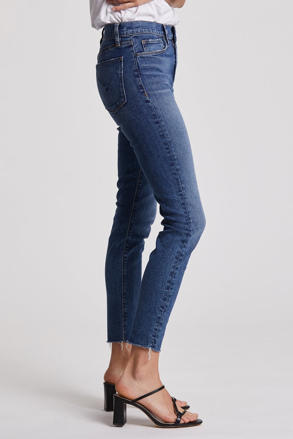 Barbara High-Rise Super Skinny Ankle Jean in Surpass
