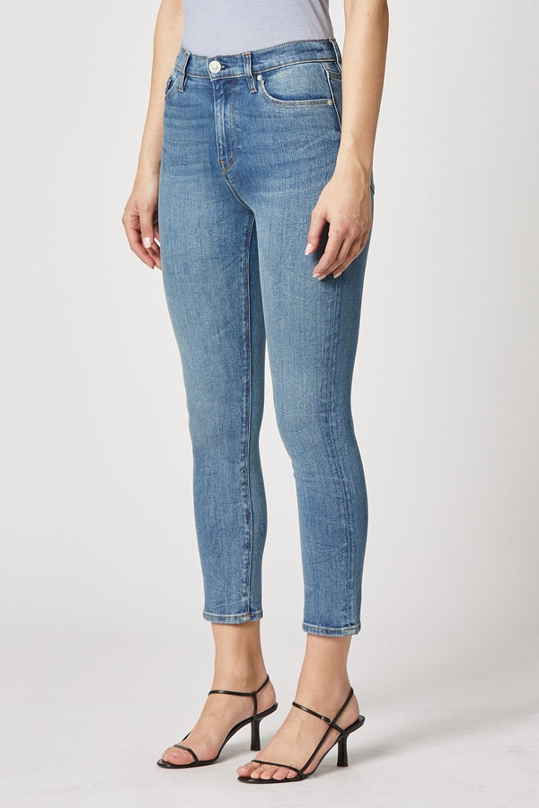 Holly High-Rise Skinny Crop Jean in Realistic