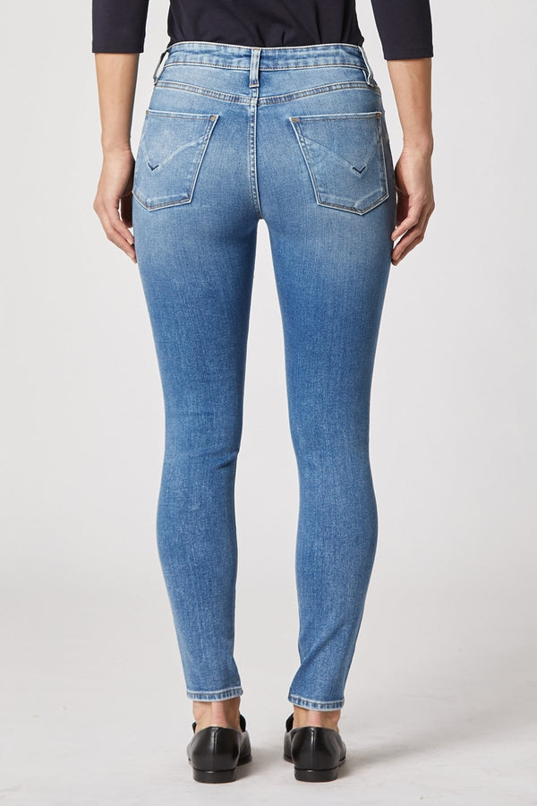Nico Mid-Rise Super Skinny Ankle Jean in Remixing