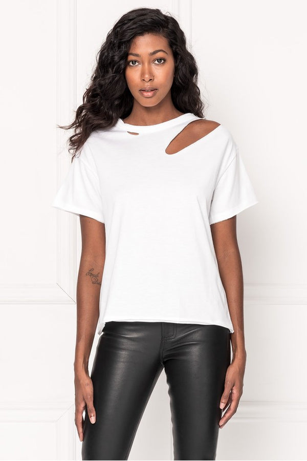 Zasha Tee in White