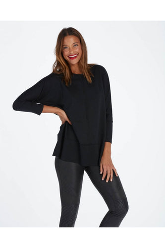 Dolman Sweatshirt in Black