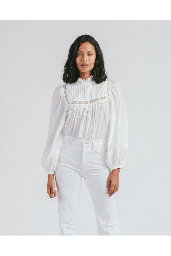 Amita Blouse in White