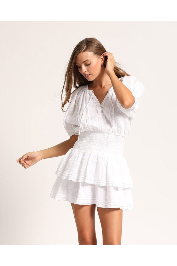 Bri Mini Dress in White