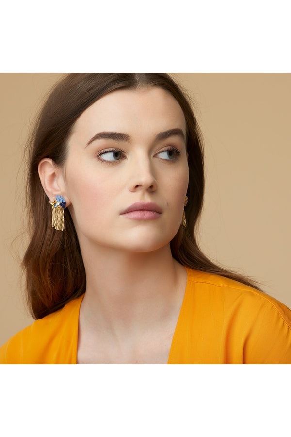 Load image into Gallery viewer, Mila Stud Earring Multi Color - HEMLINE