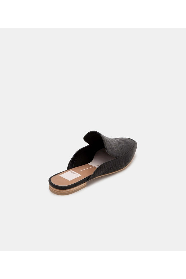 Halee Slide in Black - HEMLINE