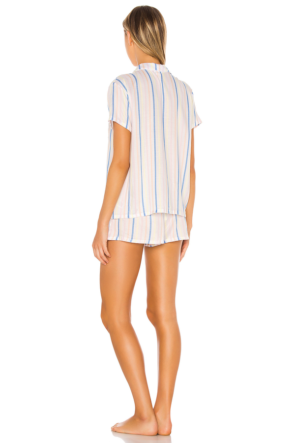 PJ Set in Summer Stripe