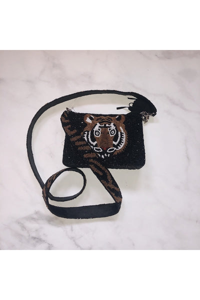 Hemline Exclusive Cross Body Tiger Black - HEMLINE