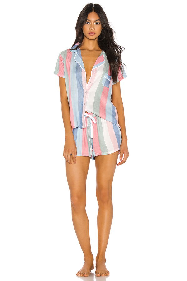 Pj Set in Island Stripe