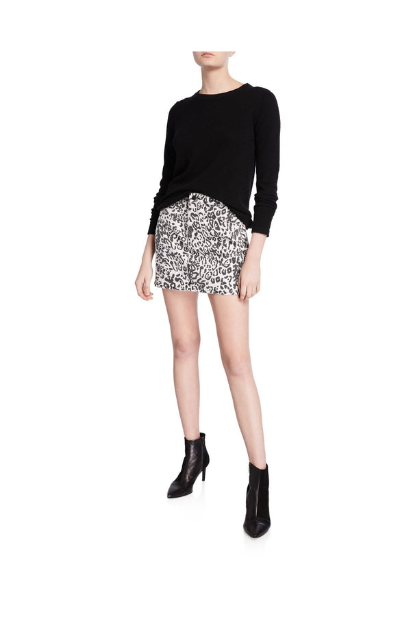 Load image into Gallery viewer, Viper Leopard-Print Mini Skirt