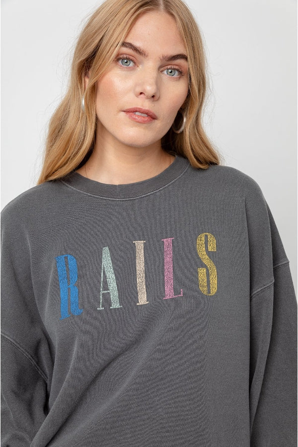 Rails Sweatshirt in Vintage Black