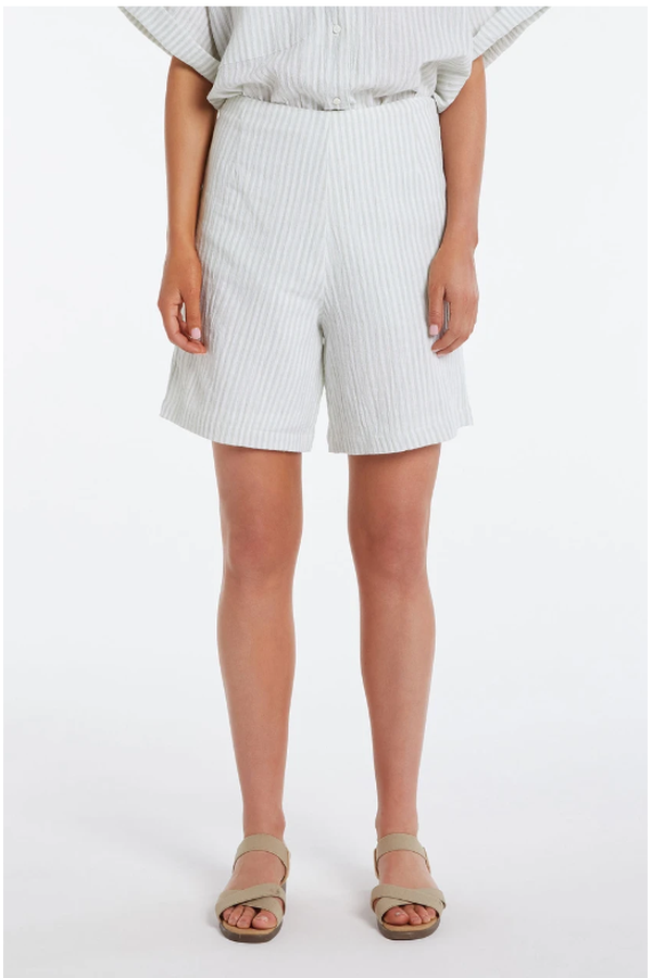 Load image into Gallery viewer, Terrace Short Print - HEMLINE