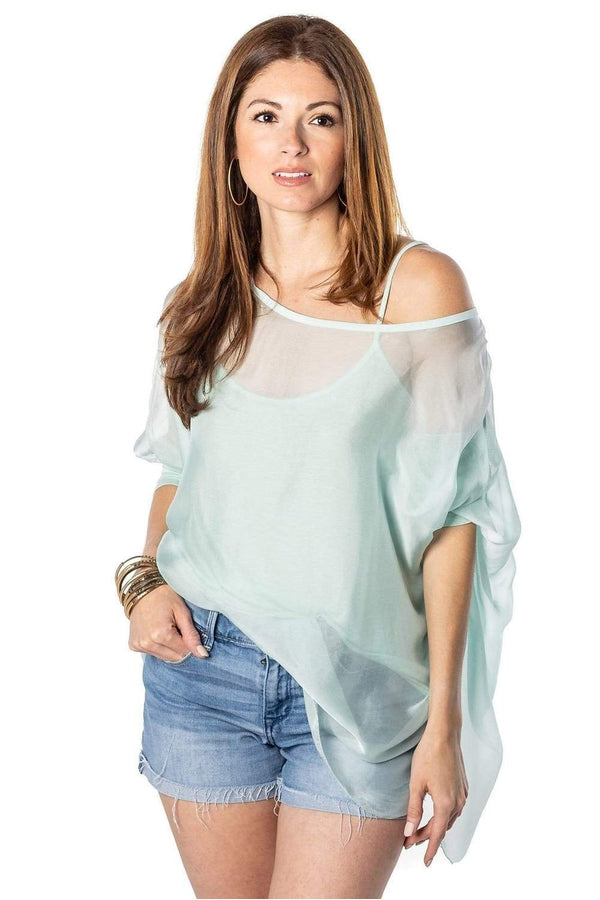 Sofia Top in Mint