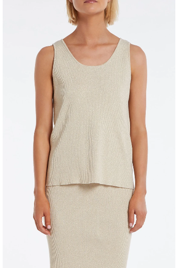 Load image into Gallery viewer, Exposure Knit Tank - HEMLINE