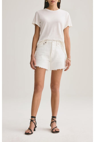 Parker Vintage Cut Off Shorts in Tissue