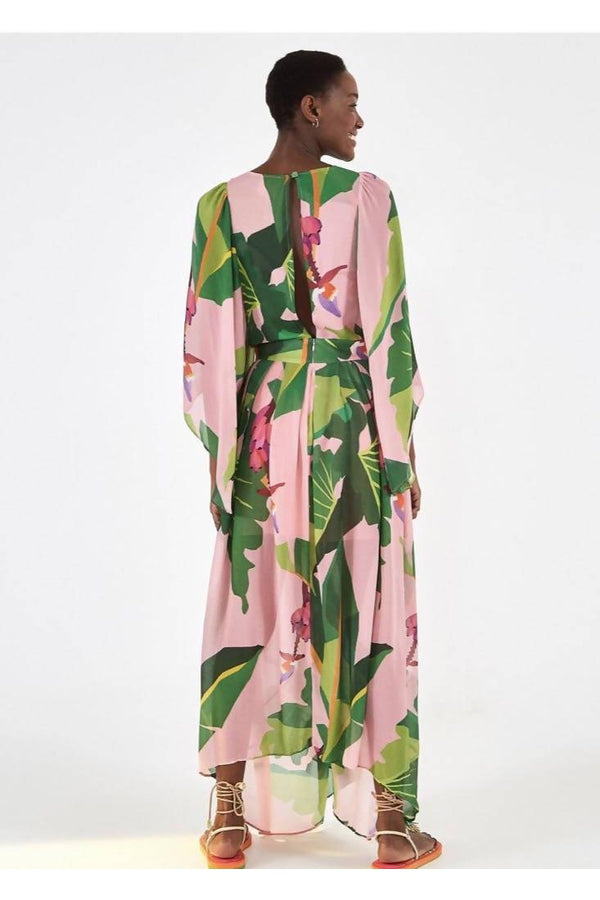 Tropicalistic Maxi Dress