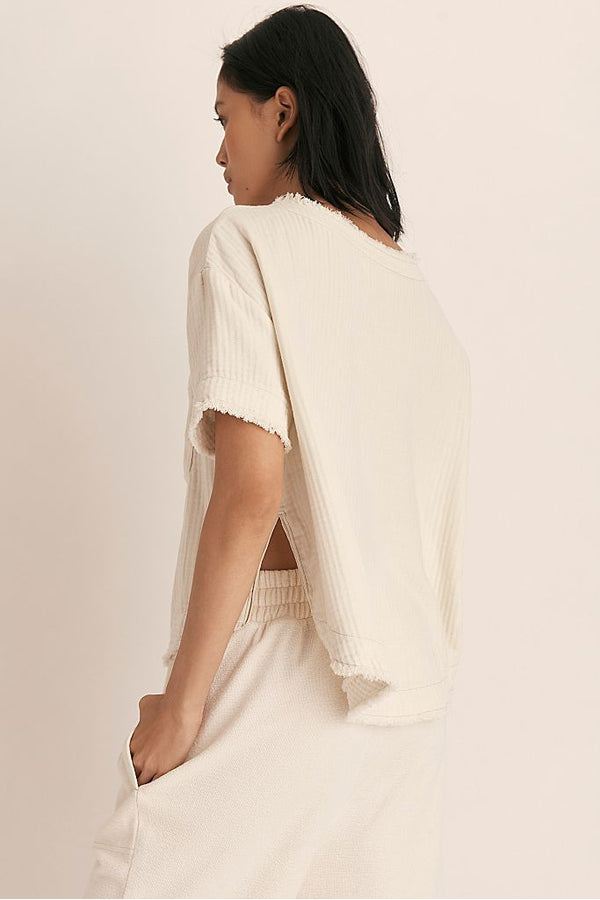 Palo Alto Top in White
