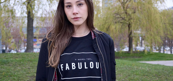 Fabulous F-Word-Tee Black T-Shirt