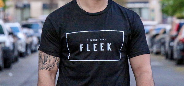Fleek F-Word-Tee Black T-Shirt