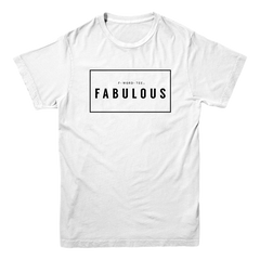 Five Faves FABULOUS F-WORD-TEE WHITE