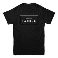 Five Faves FAMOUS F-WORD-TEE BLACK