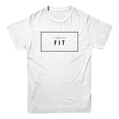 Five Faves FIT F-WORD-TEE WHITE T-SHIRT