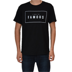 Five Fave FAMOUS F-WORD-TEE BLACK