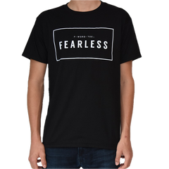 Five Faves FEARLESS F-WORD-TEE BLACK