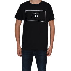 Five Faves FIT F-WORD-TEE BLACK T-SHIRT