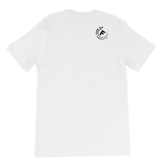Five Faves FUN F-WORD-TEE WHITE Back : Turn-The-F-Around