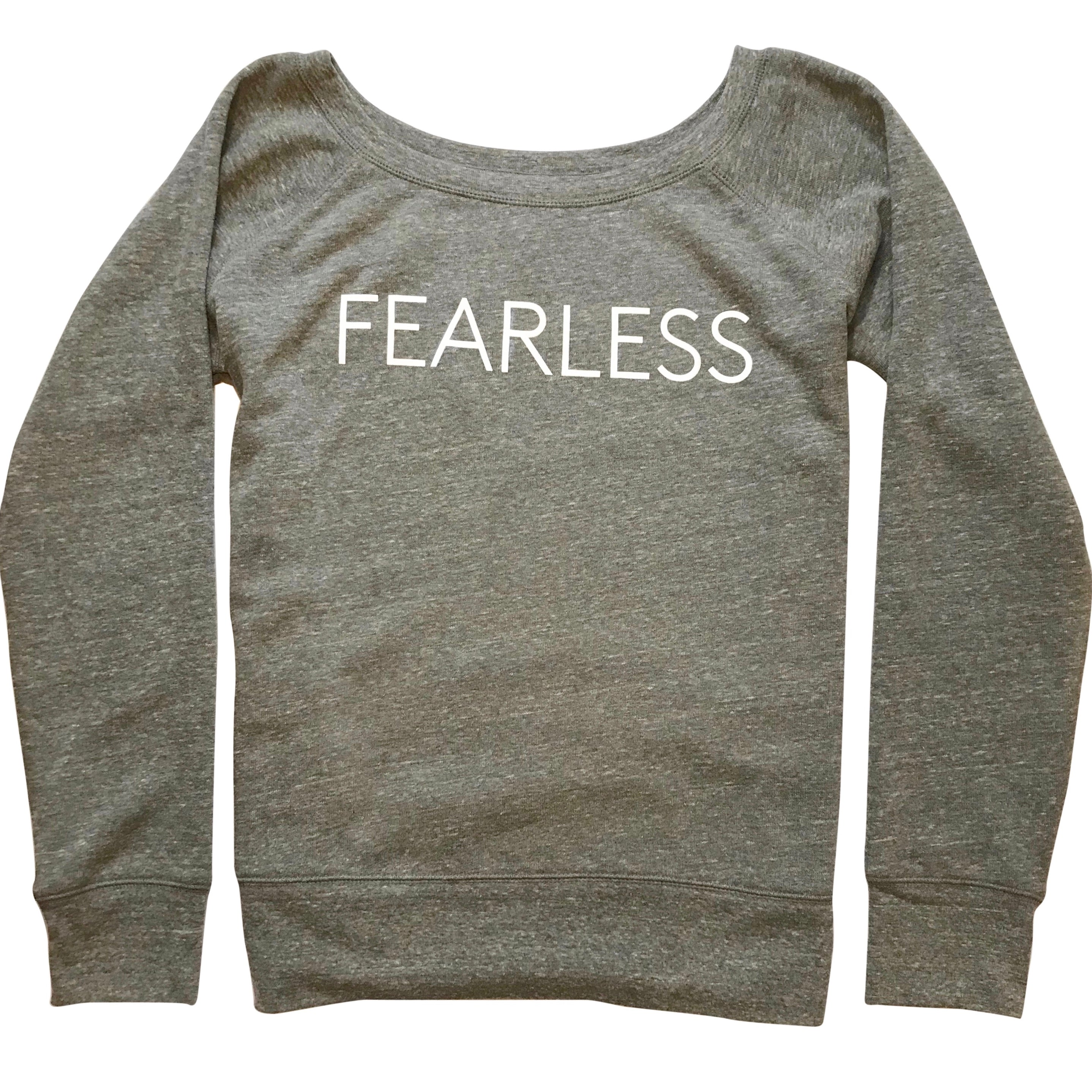 Five Faves F-Word-Tee Sweatshirt Fearless Front