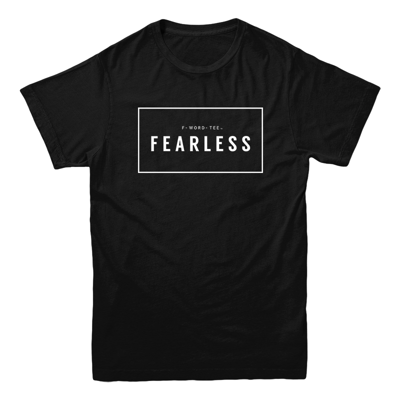 F-Word-Tee, FEARLESS, Black, Five Faves
