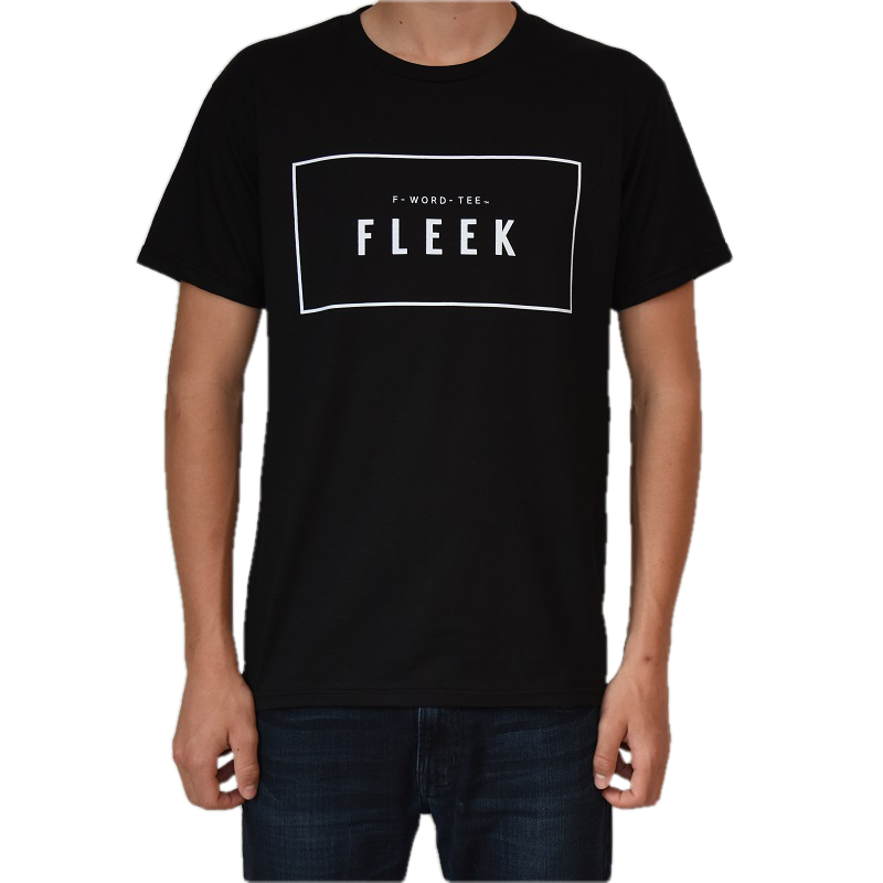 FLEEK F-WORD-TEE, <br>Unisex