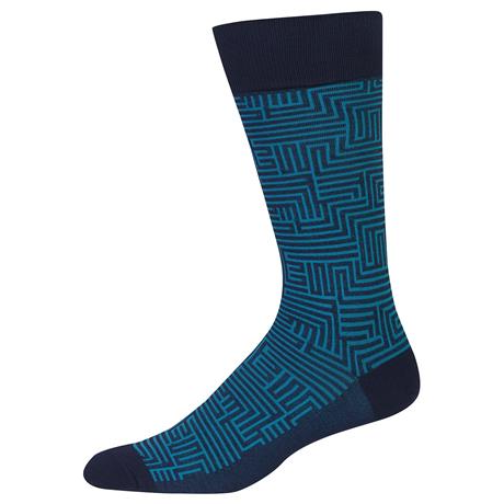 Dress Maze Socks, Mens