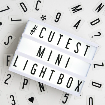Lightbox, Mini, My Cinema Lightbox