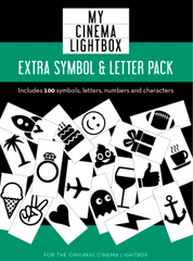 Extra Letter / Symbol Pack (Original / Vintage Lightbox), My Cinema Lightbox
