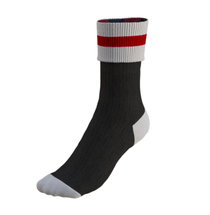 Wool Super Socks - Black
