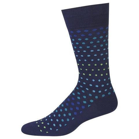 Variegated Dot Socks, Mens, Hot Sox