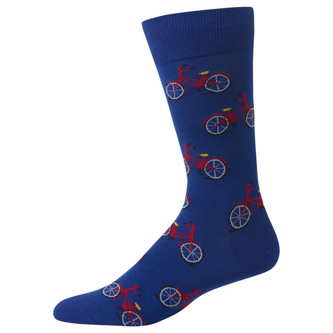 Bicycle Socks, Mens, Hot Sox