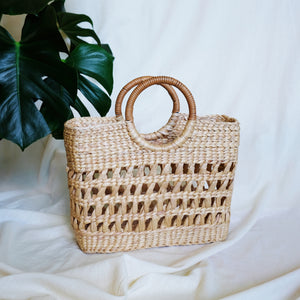 Open Weave Sea grass Bag