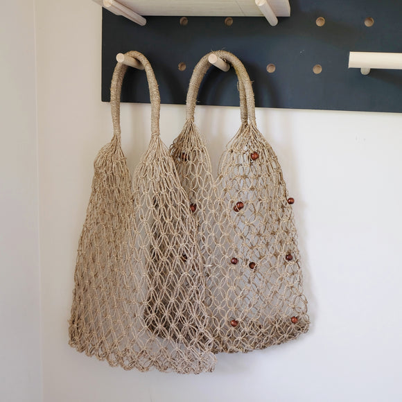 Indah straw net bag