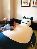 6ft Snorlax bean bag cover