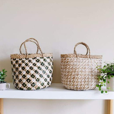 DAISY Market Straw Bag