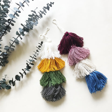 Xlarge Layered Door Tassel