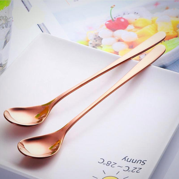 Korean Style Long Cord Spoon Set