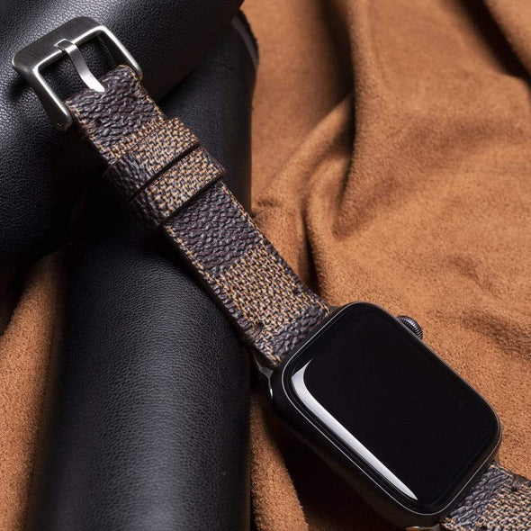 Lux Bands - Repurposed Luxury Designer Apple Watch Band