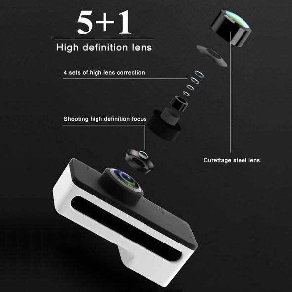 PANOCLIP The Snap-On 360 Degree Panoramic Lens