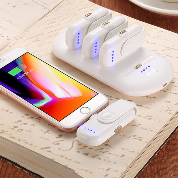PowerBank -  Snap n' Go Fast Charging Emergency Phone Charger