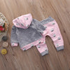 Baby Smiley Cloud Hoodie + Legging Set