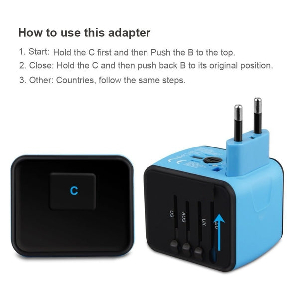 * Perfect Travel Adapter