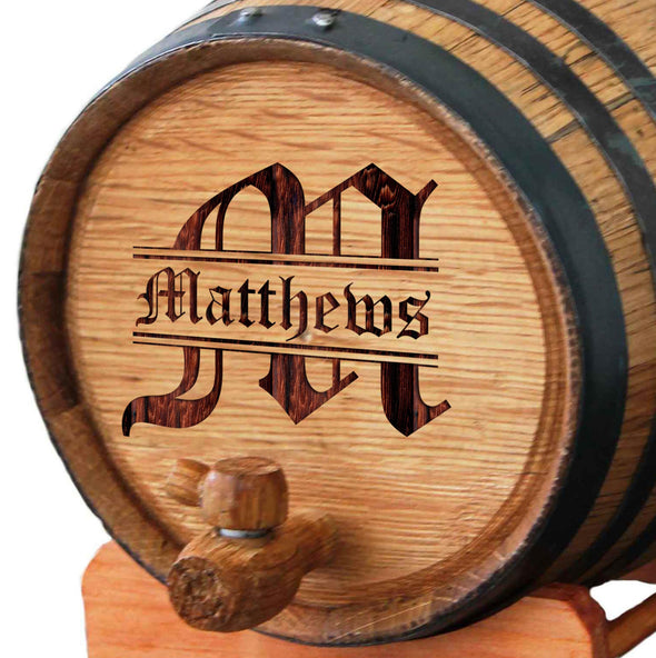 Gifts For Men - Personalized Whiskey Barrel
